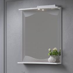 Зеркало с полкой Monaco 60-01